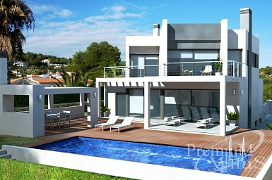 new build properties in calpe spain