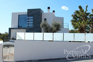 high quality villa in calpe spain