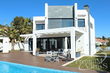 new build house in calpe spain