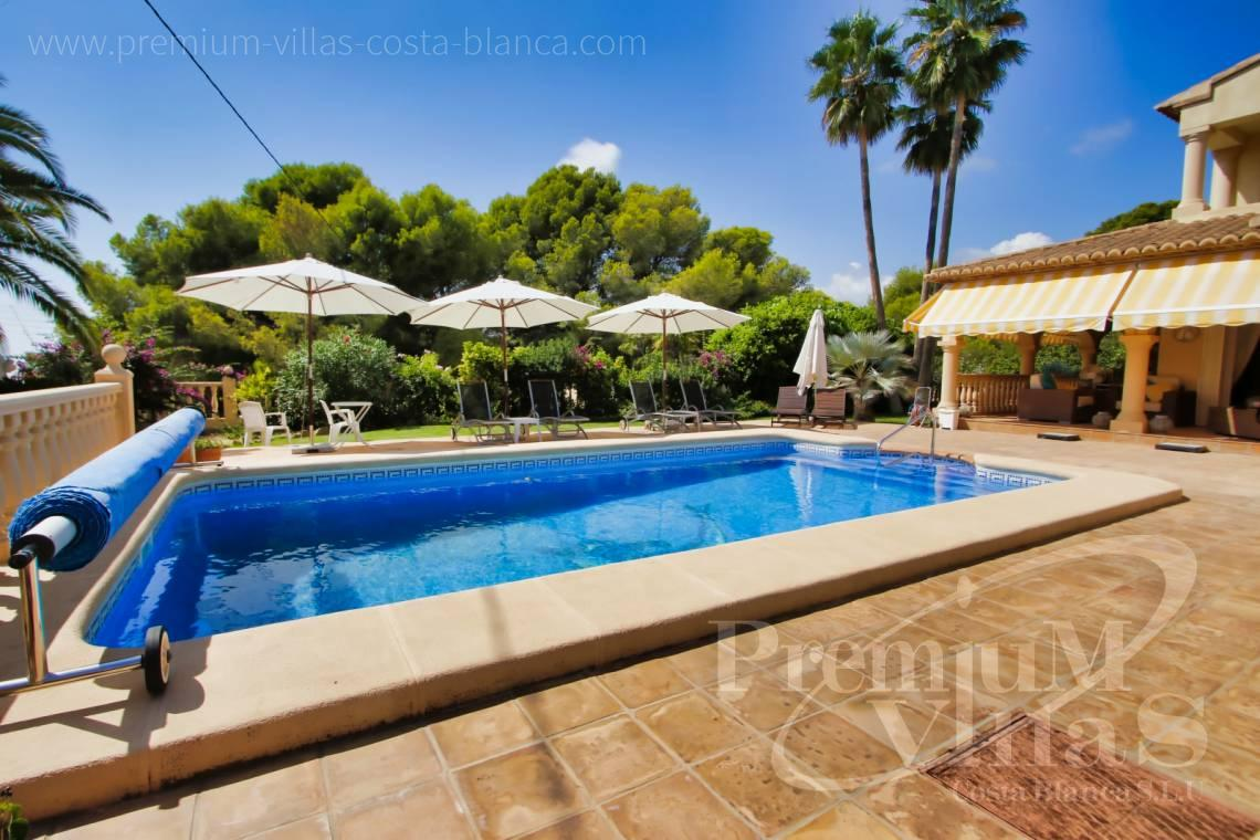 Buy house in Calpe Costa blanca - C2221 - Mediterranean villa in quiet urbanization of Calpe just 1.5 km from the sea 27