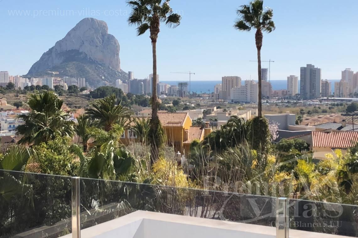 Modern villa close to the beach in Calpe Costa Blanca - C2130 - Modern villa for sale next to the town Calpe 2