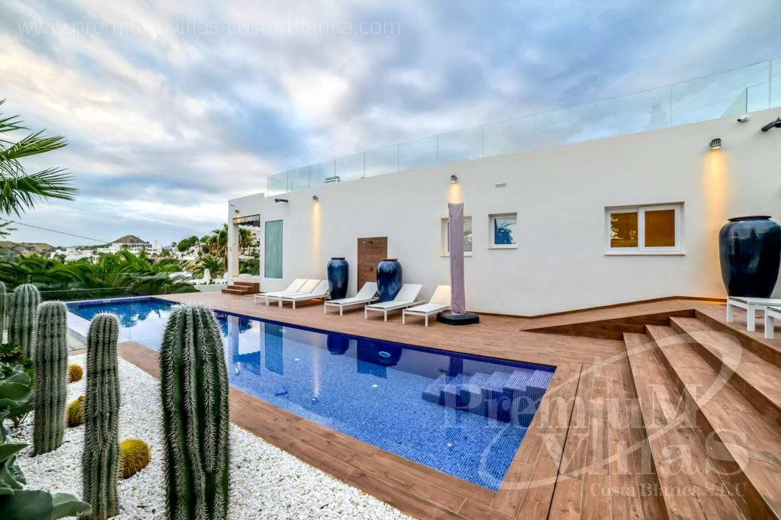 Modern villa in Montiboli Villajoyosa near the sea with guest apartment - C2244 - Luxury mansion in the urbanization Montíboli in Villajoyosa 3