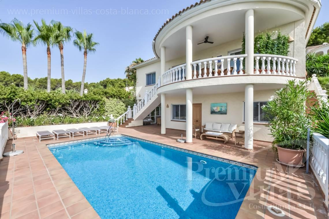 - C2439 - Sea view villa with spacious guest apartment in Altea 1
