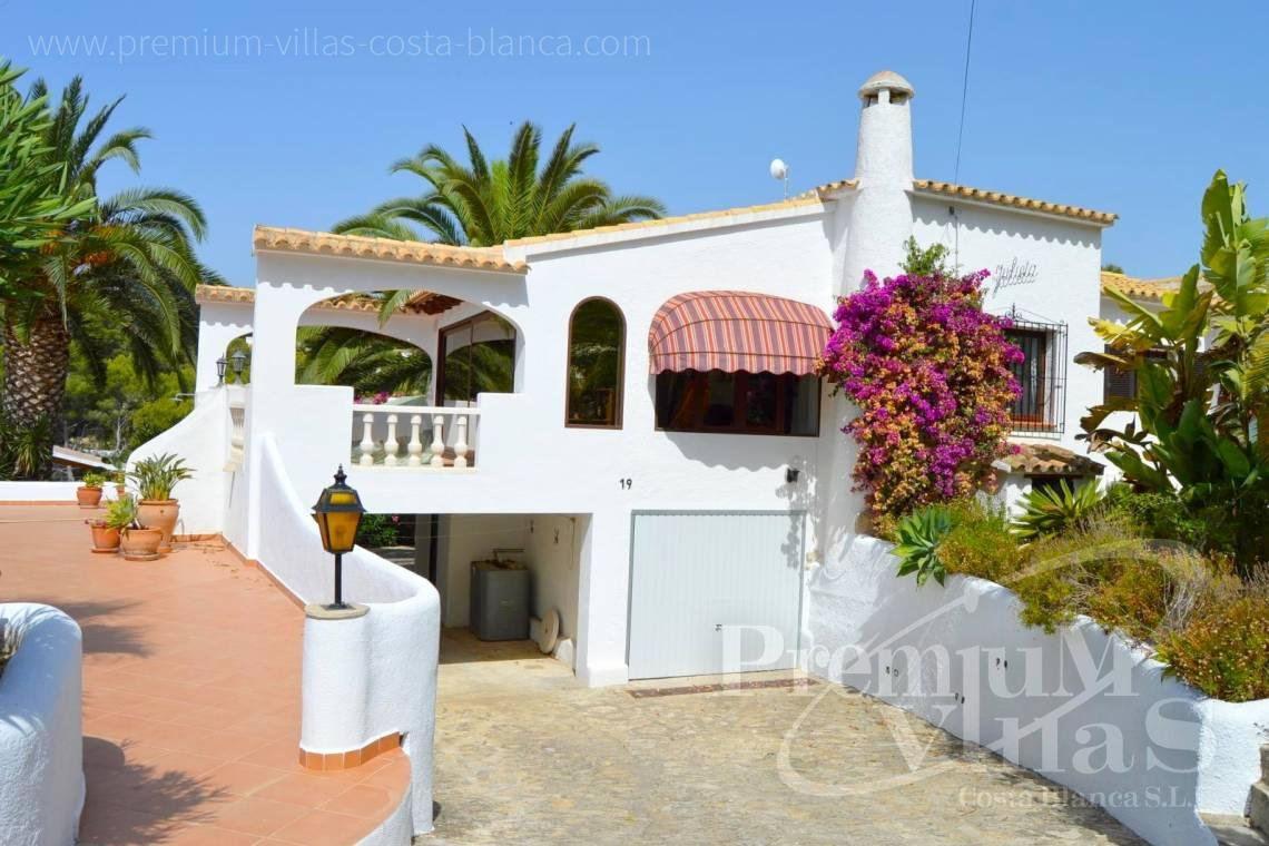 Villa house for sale in Benissa - C2135 - House in Benissa near the golf course Ifach and Cala Baladrar 2