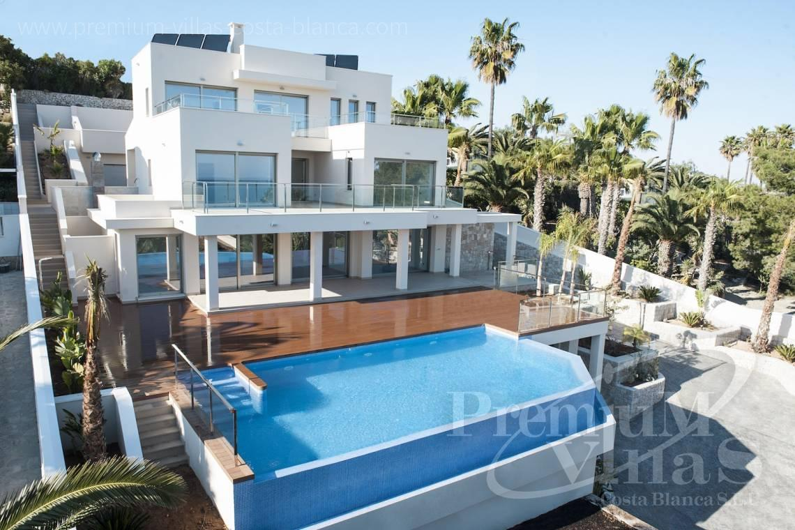 buy 4 bedrooms property Moraira Costa Blanca - C1637 - Modern luxury villa in Moraira with nice sea views 2