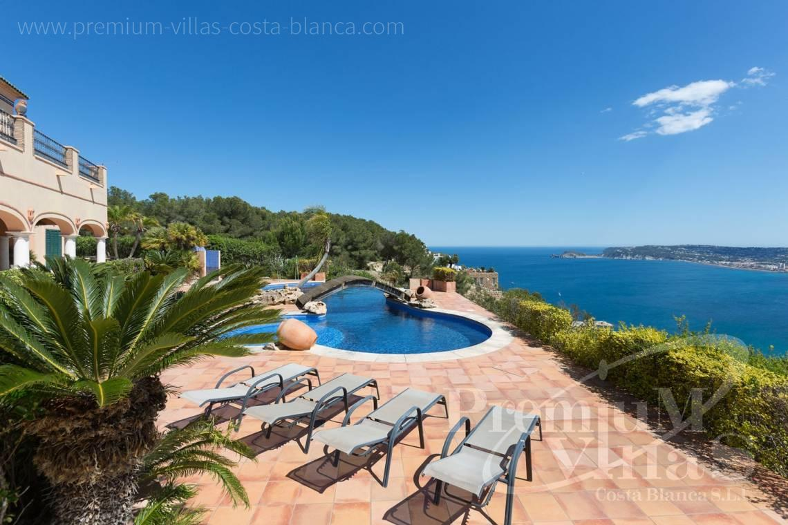 buy villa house Costa Blanca Spain - C2196 - Javea: Wonderful villa in a privileged location with unbeatable sea views 26