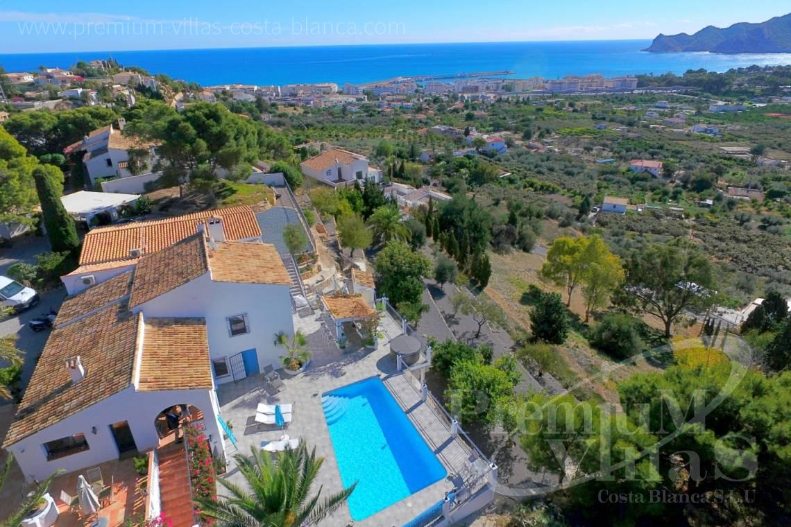 buy house villa Altea Costa Blanca Spain - C2108 - Amazing villa near Altea Old town with sea views  16