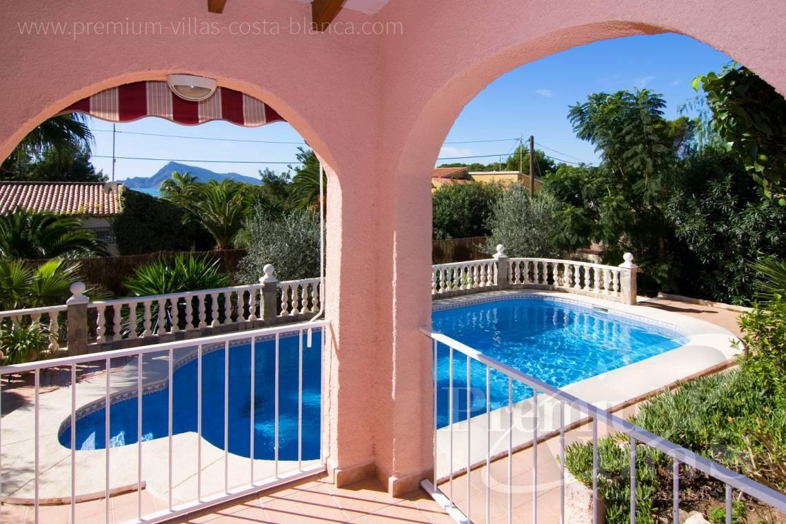 Buy villa near the golf club in the Sierra de Altea Costablanca - C2129 - Privately located villa with sea view and beautiful garden in Altea 6