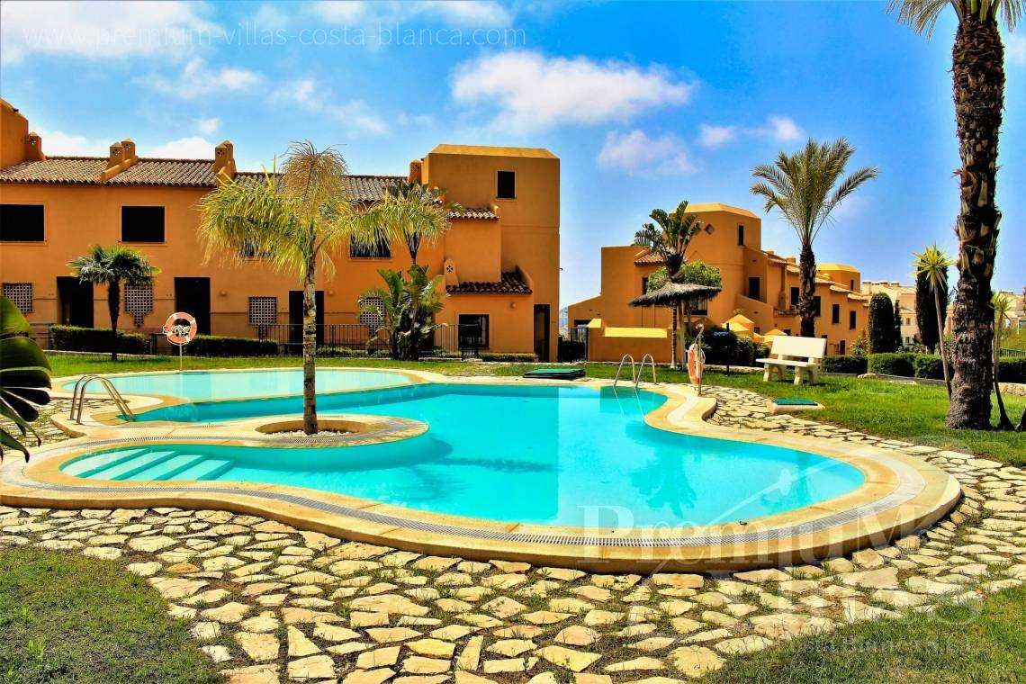 2 and 3 bedroom townhouses for sale in Finestrat Spain - C2267 - Terraced houses near the golf course in Finestrat 20
