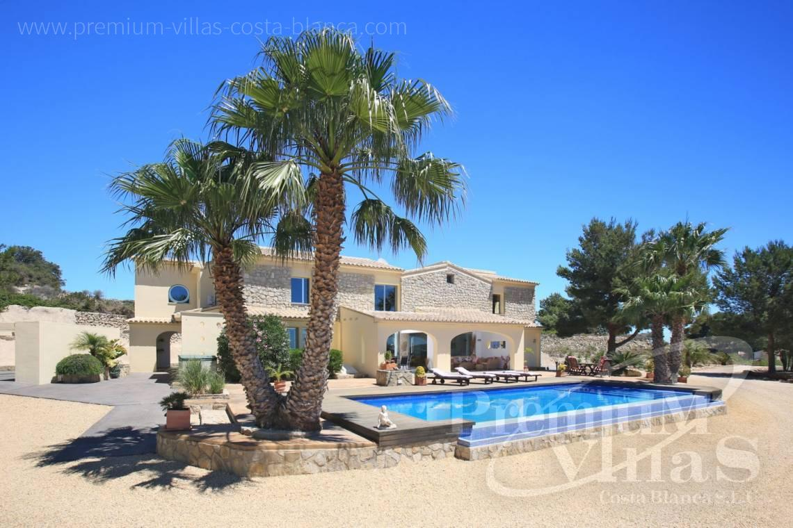 buy property Moraira Costa Blanca - C2199 - Moraira: Beautiful villa surrounded by vineyards with beautiful sea views. 17