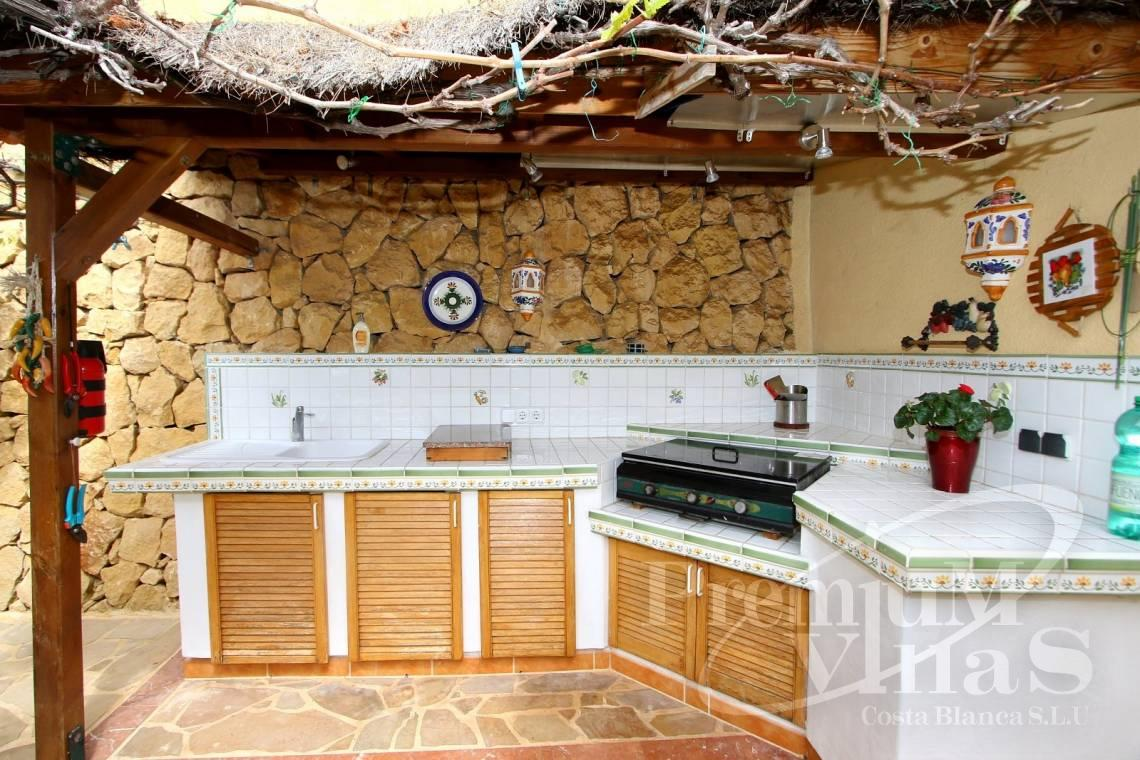 Villas with outdoor kitchen in Altea Hills Costa Blanca - C2041 - Location, location location! Fantastic villa in Altea Hills  19