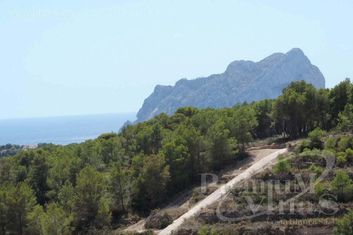 Plot for sale with sea views in Benissa Costa Blanca - 0208G - Urban plot in Benissa with sea views 1.5km from the beach 2