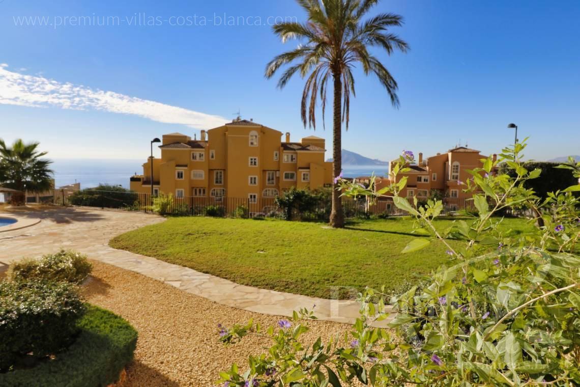 2 bedrooms apartment with sea views Altea Costablanca - A0611 - Apartment in Mascarat urb. Jazmines 19