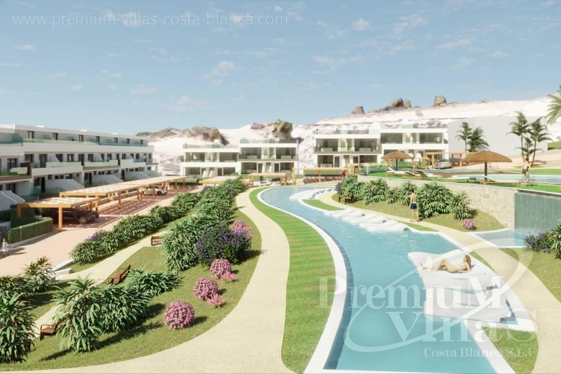 Buy villas houses bungalows Finestrat Costa Blanca - C2228 - Terraced houses in Finestrat near Benidorm with nice sea views 27