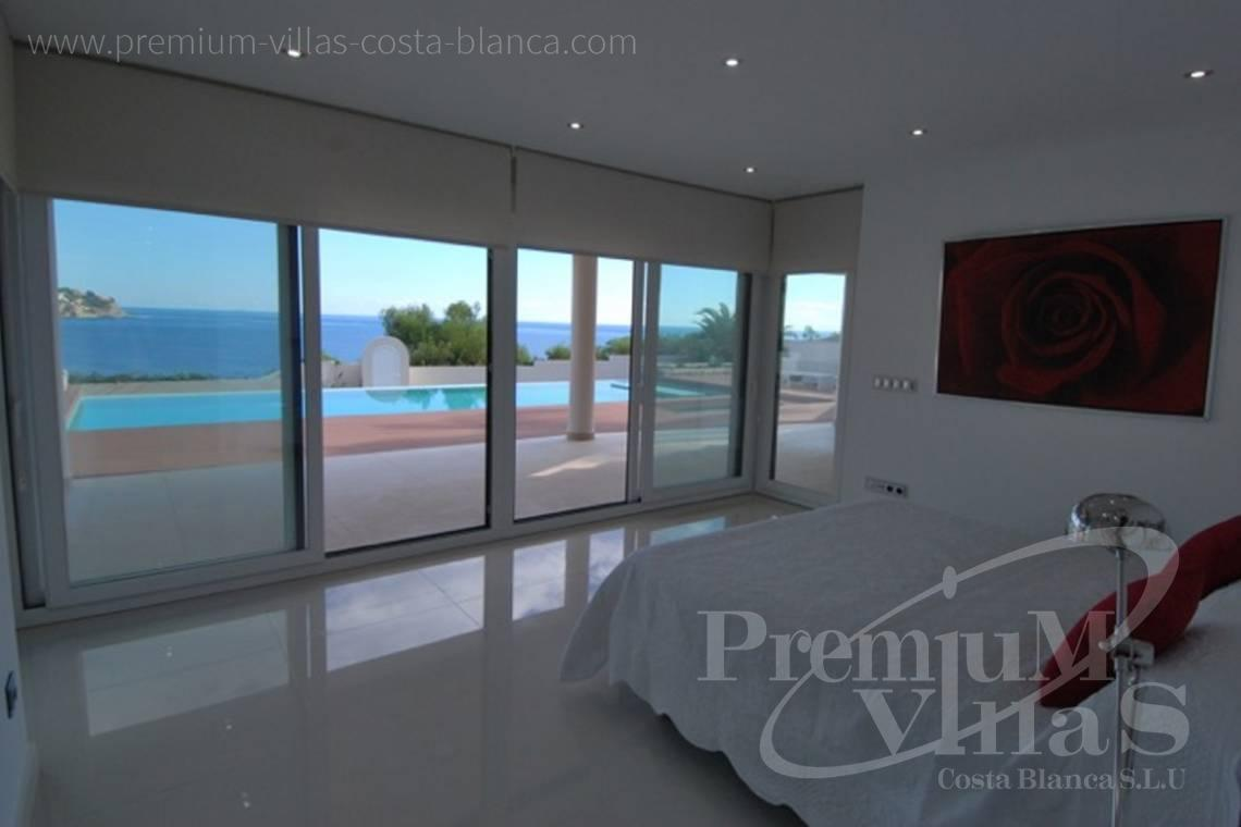 Buy villas houses sea view Benissa Costa Blanca - C1436 - Modern front line villa in Benissa with direct access to the beach 9