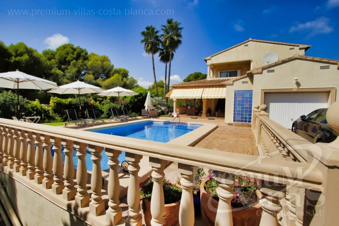 Buy Mediterranean villa in Calpe Costablanca - C2221 - Mediterranean villa in quiet urbanization of Calpe just 1.5 km from the sea 3
