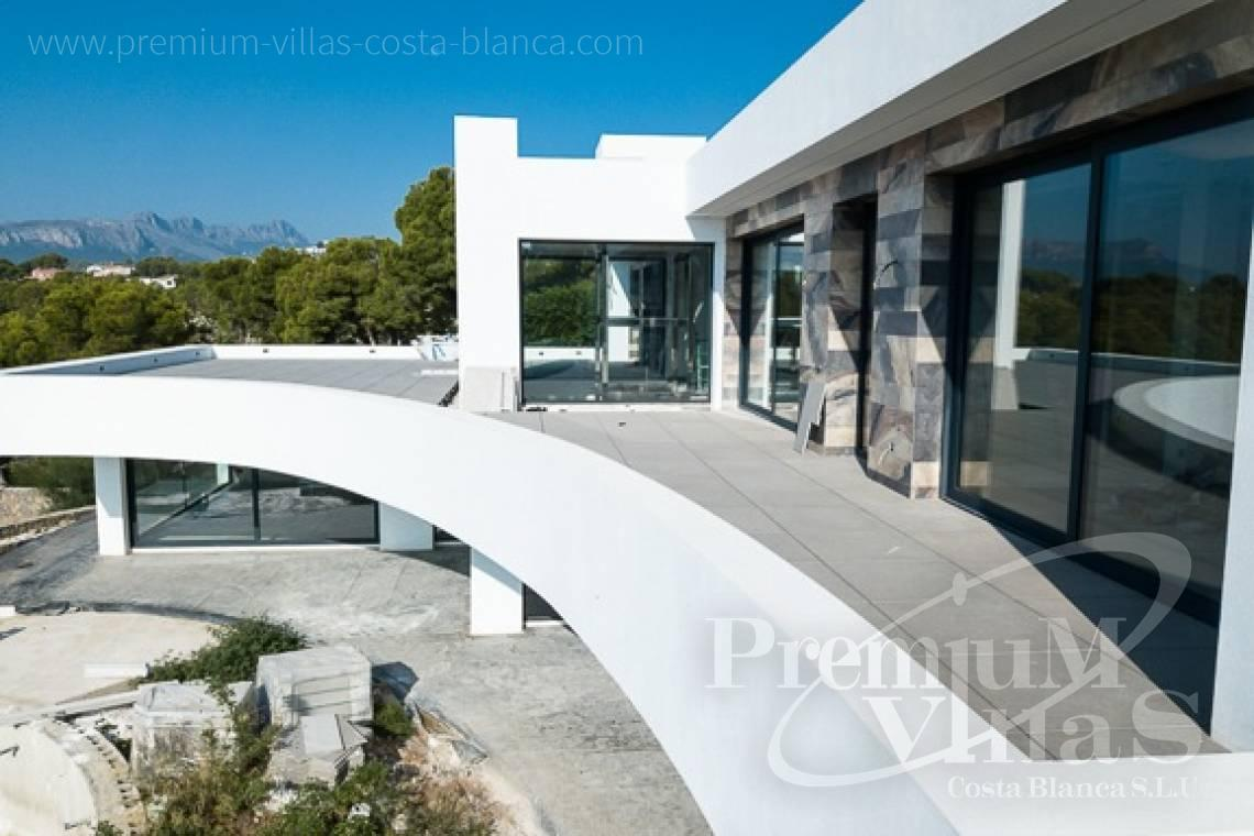 - C1698 - Modern design villa for sale with nice sea views in Benissa  8