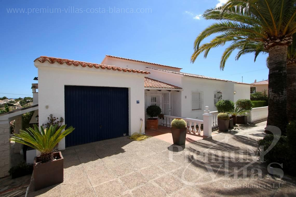 - C1983 - Charming villa with nice seaviews and guest apartment in Calpe  5