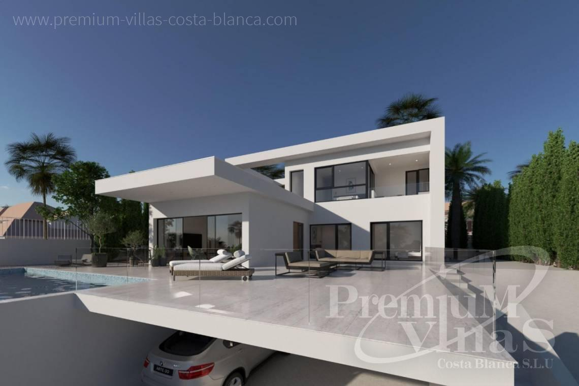 modern villas houses for sale Costa Blanca Spain - C2240 - Modern villa in urbanization Ortenbach in Calpe 14