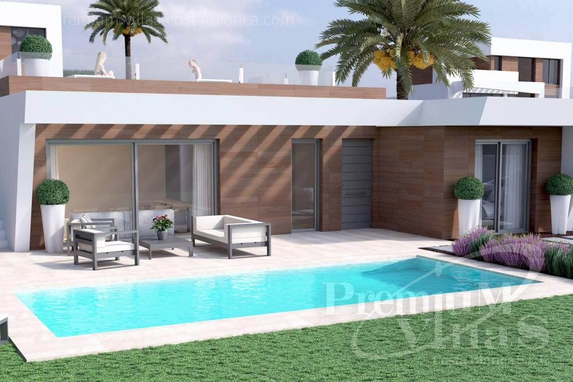 Modern villas with private pool in Benidorm Costablanca - C2014 - Modern villas for sale in Benidorm 11