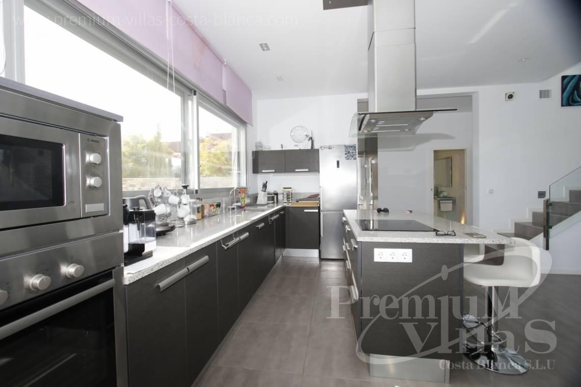 Kitchen in modern villa near the beach in Calpe Costa Blanca - C2130 - Modern villa for sale next to the town Calpe 6