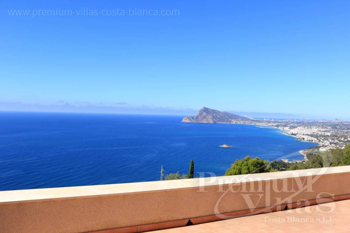 Buy house villa property Altea Hills Costa Blanca - C1962 - Mediterranean villa on a top location in Altea Hills with Tennis court 1