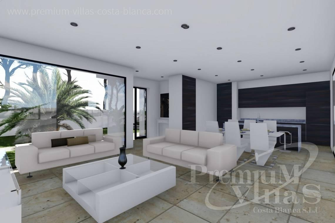 Modern 3 bedroom villa for sale in Calpe Costa Blanca - C2288 - Newly built modern villa near the beach in Calpe 9