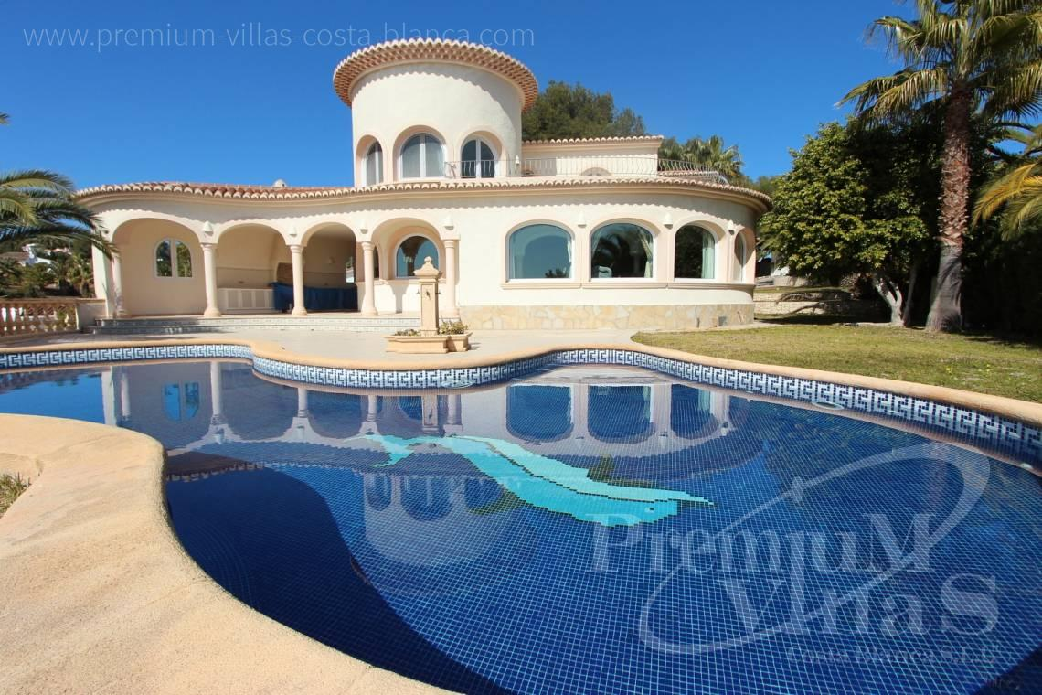 buy villa house Costa Blanca Spain - C2337 - Luxury villa in Benissa with nice sea views 3