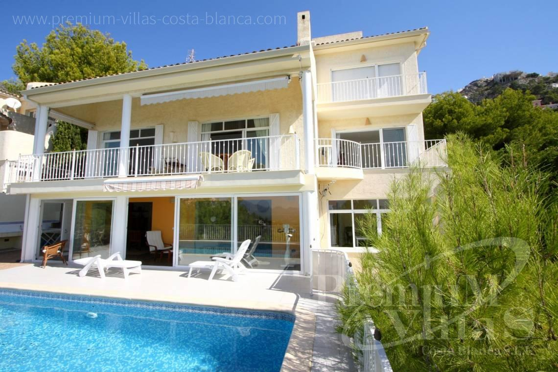 4 bedrooms house villa for sale Altea Hills - C1198 - Altea Hills! Spacious villa with very nice sea views towards the coast 2