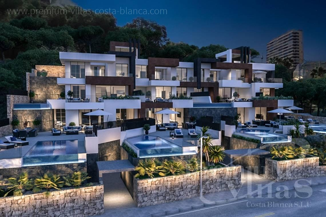 buy apartment  Benidorm Costa Blanca Spain - A0599 - Luxury apartments and duplex in privileged area of Benidorm at the seafront. 7