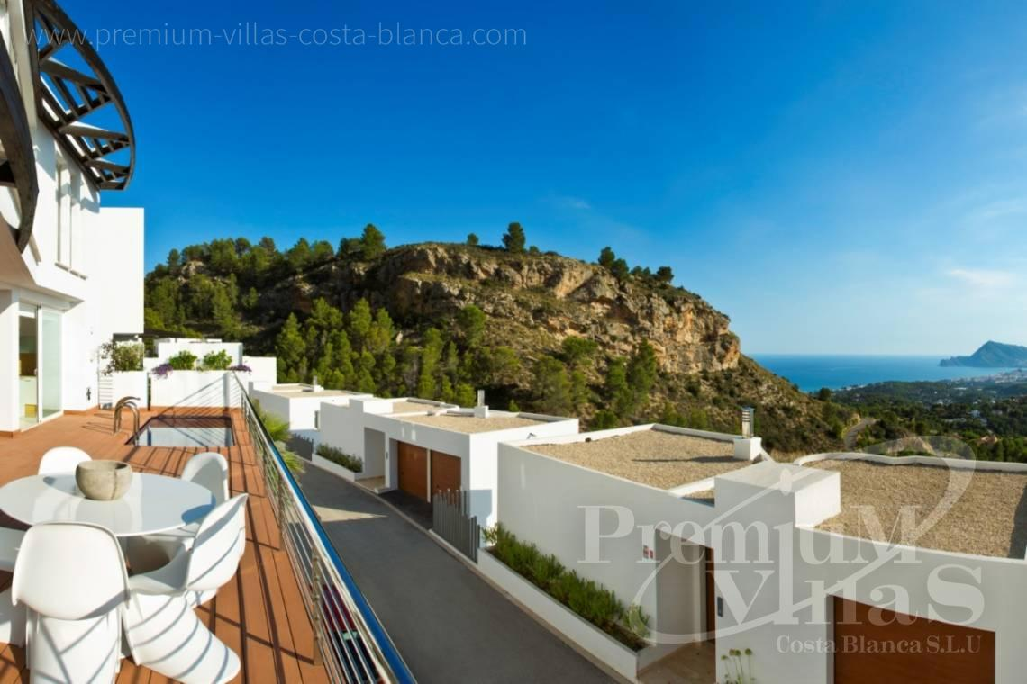house villa for sale in the Sierra de Altea Costa Blanca  - C2243 - Modern and furnished villa in Sierra de Altea 4