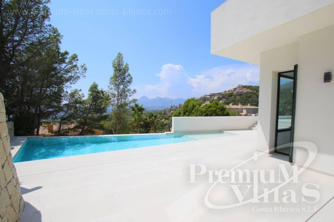 property for sale Altea Hills - C2138 - New construction of a modern villa in Altea Hills with fantastic views 4