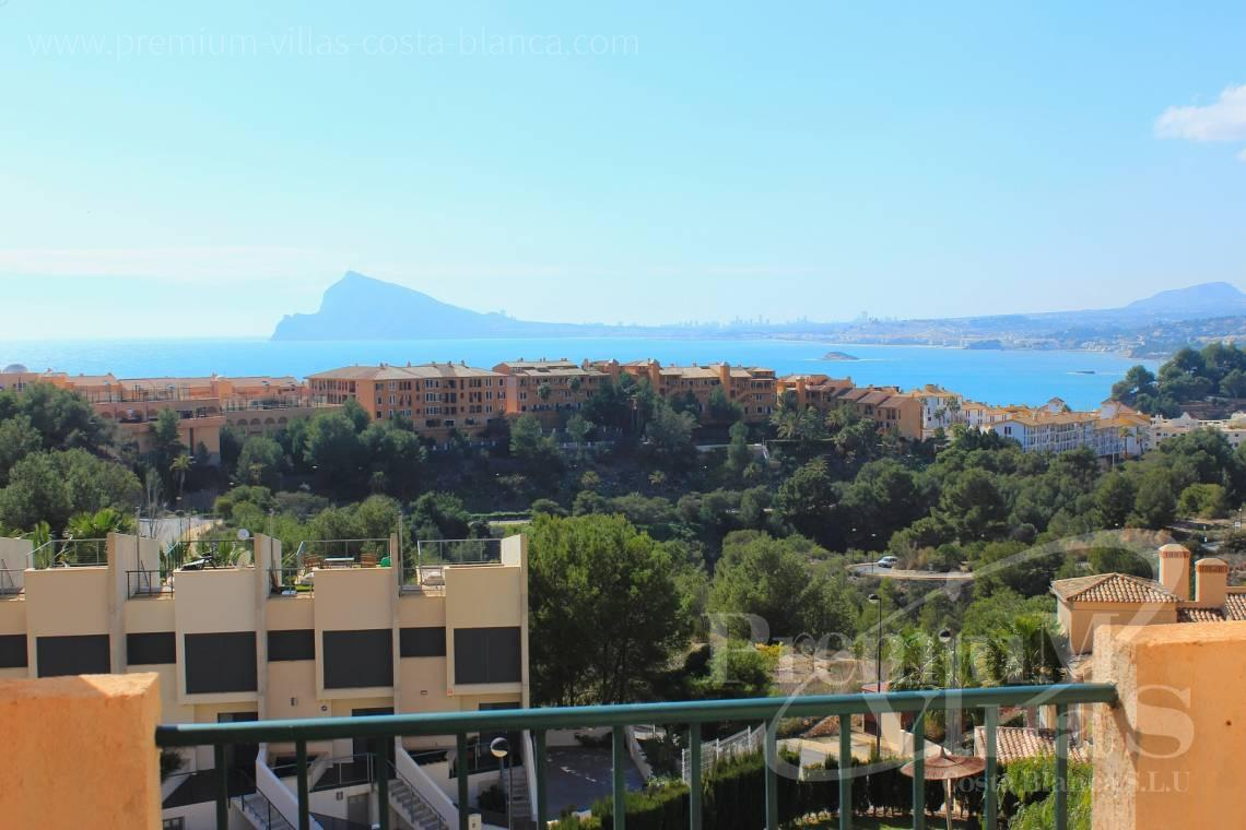 Apartment close to the beach with sea views Altea Calpe Costa Blanca - A0445 - Mascarat! Nice 2 bedroom apartment close to the beach with sea views 2