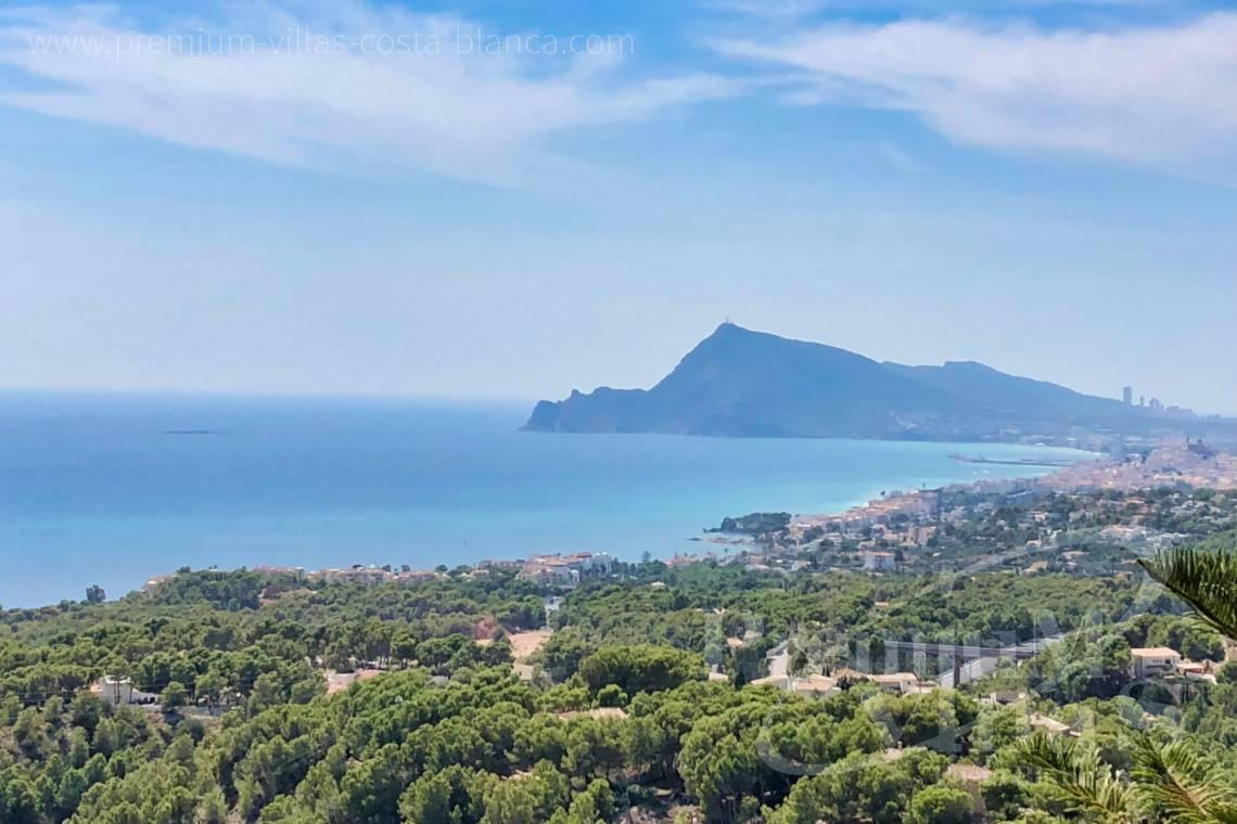 Luxury villa with sea views in Altea Costablanca - C2238 - We build this villa soon at one of the best Altea plots 2