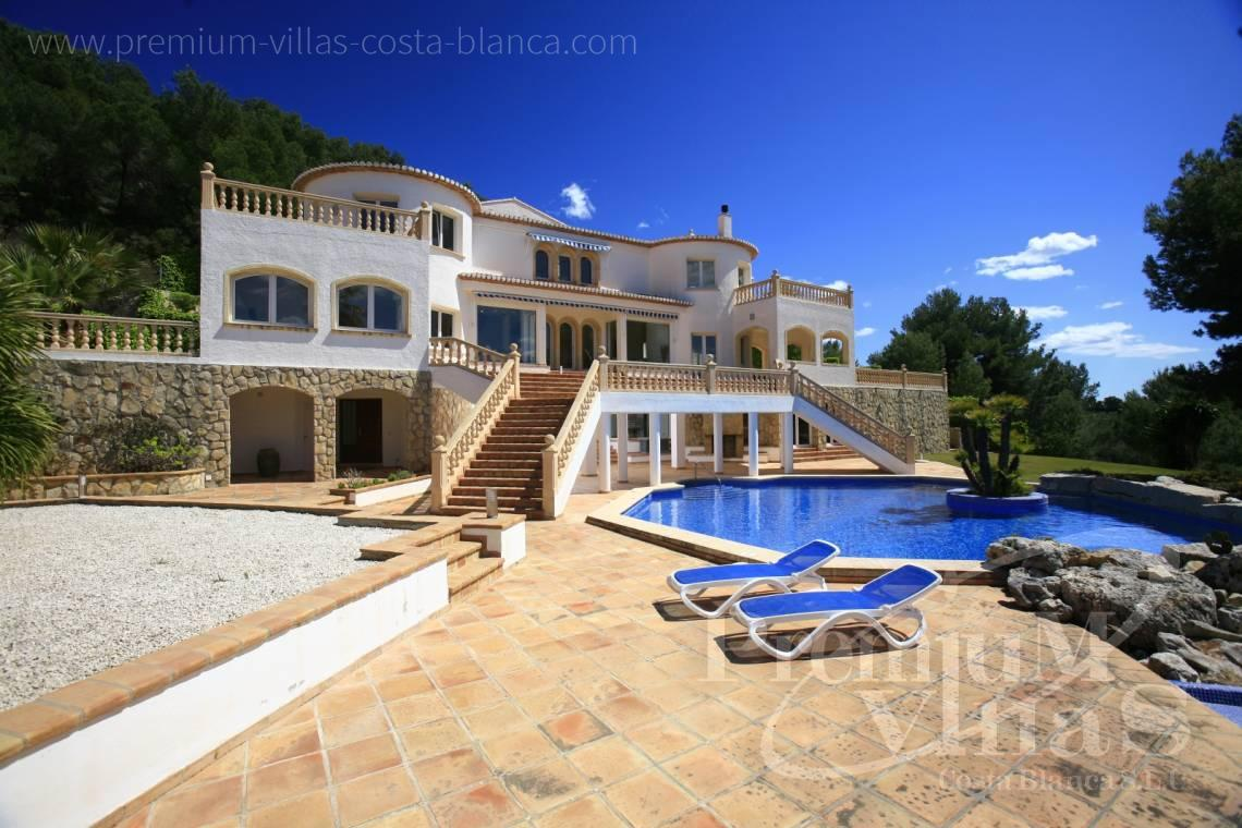 House villa for sale Jávea Costa Blanca - CC2195 - Mediterranean villa in Jávea with stunning sea views. 1