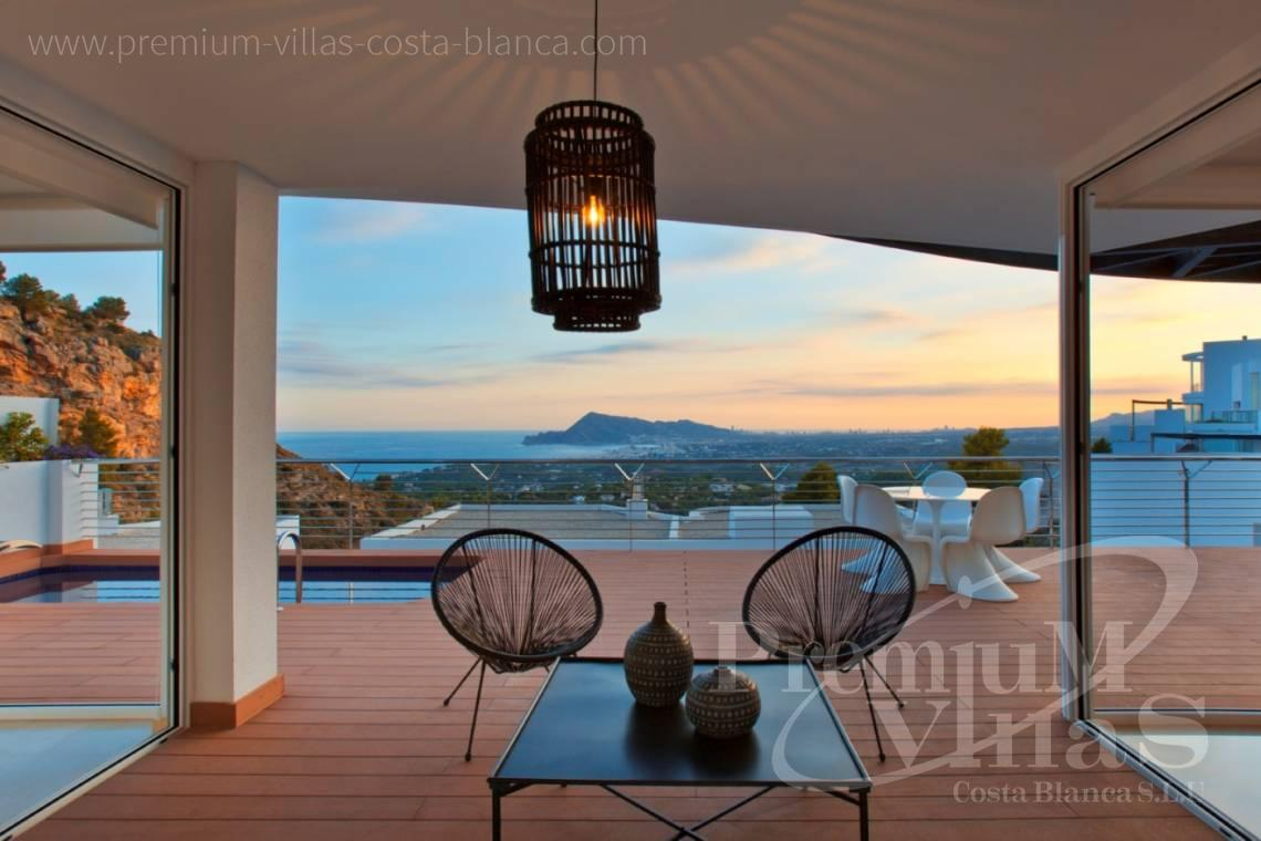 Buy modern house in the Sierra de Altea Costa Blanca - C2243 - Modern and furnished villa in Sierra de Altea 1