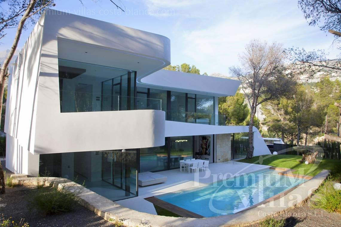 Modern villa near Don Cayo Golf Club in Altea Costa Blanca - C2104 - Modern house in Altea only 300m from the beach 3