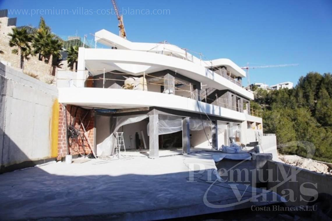 Luxury villa for sale in Racó de Galeno Benissa - C2122 - New project in Benissa with panoramic views over the whole Calpe. 1