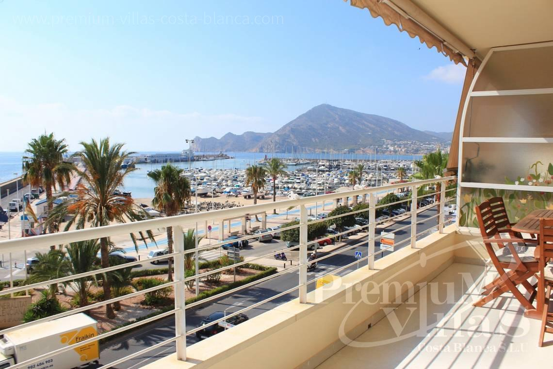 Apartments penthouse duplex for sale at the sea front Altea Costablanca - A0398 - 1st line apartment in Altea, only 30m from the beach with great sea view 2