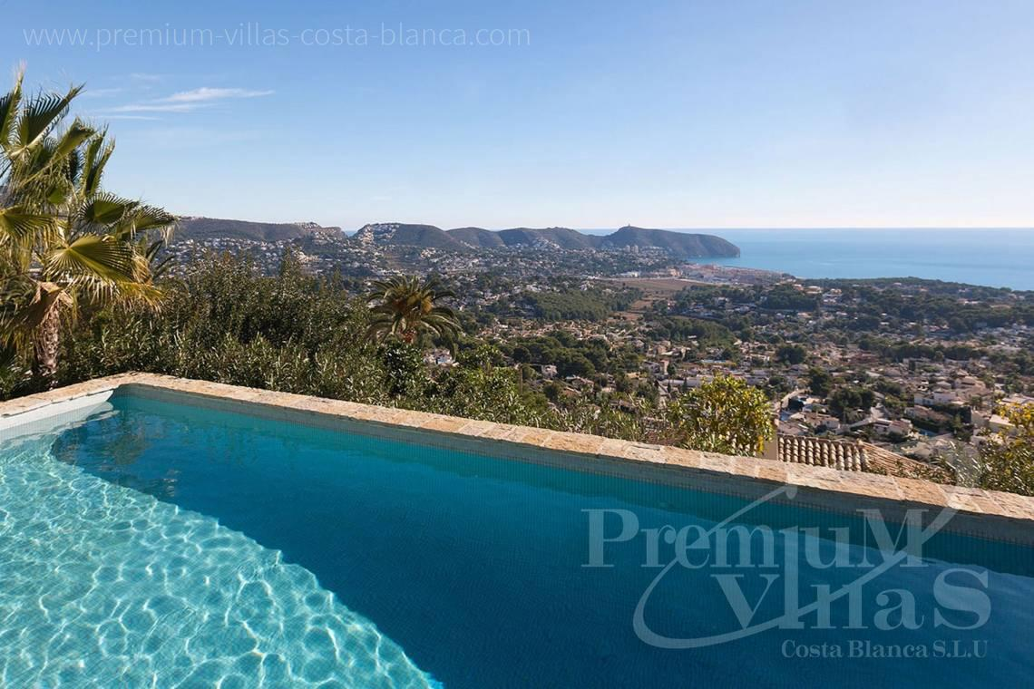 buy property Moraira Costa Blanca - CC2385 - Modern villa with panoramic sea views in Moraira 7