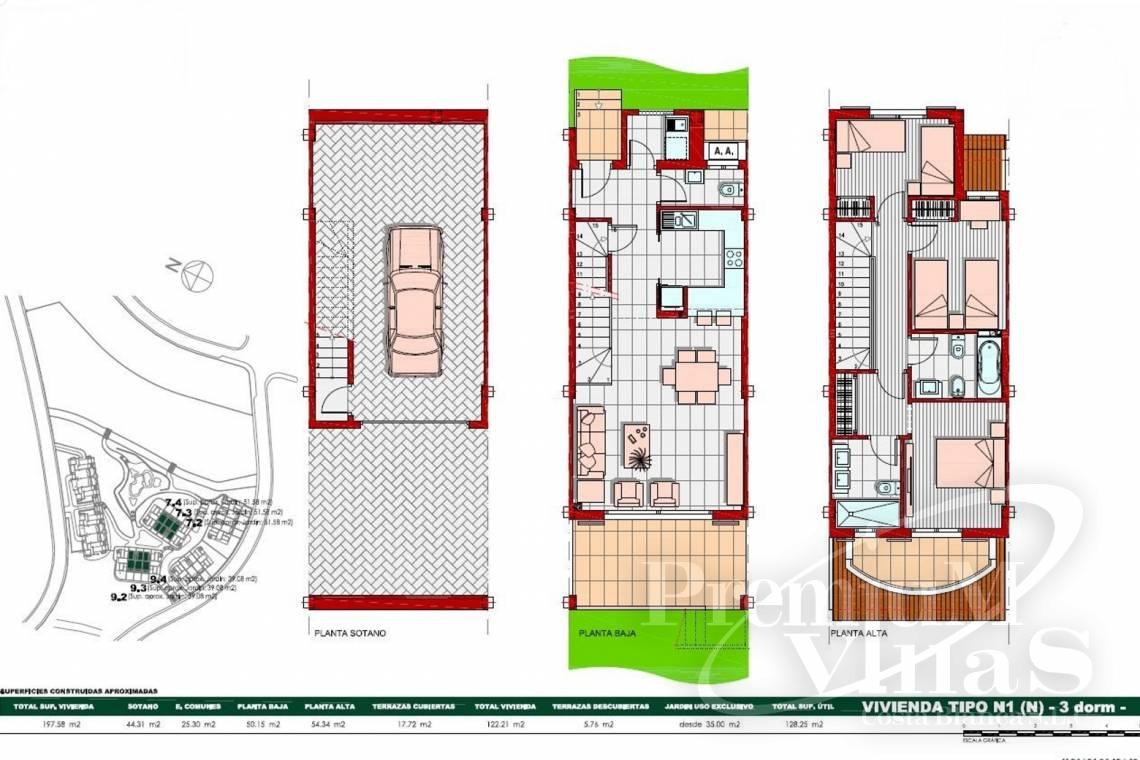 - C2269 - Newly built 3 bedroom terraced houses in Finestrat 27