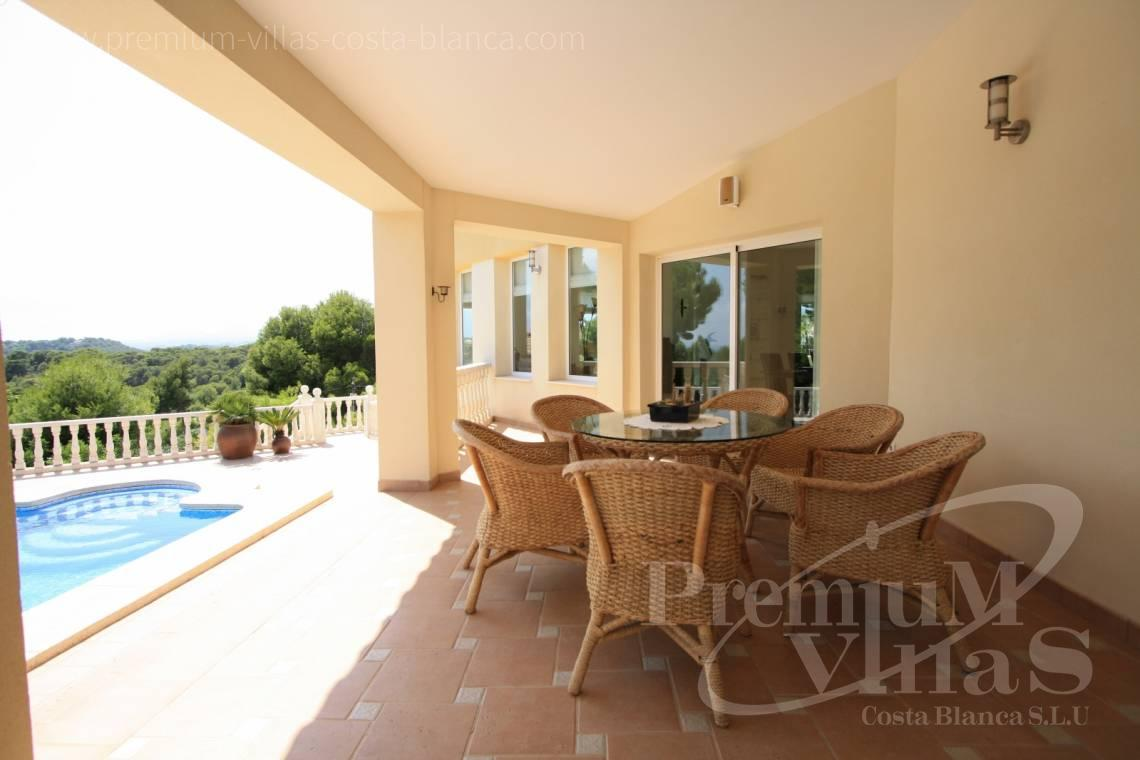 buy house villa Altea Costa Blanca Spain - C1298 - Contemporary style villa in Altea for sale with nice sea view 6