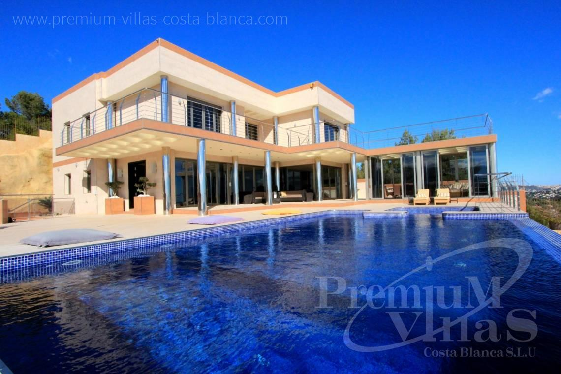Buy modern 6 bedrooms villa in Benissa Costa Blanca - C1506 - Mansion in a top location with separate guest house in Benissa 2