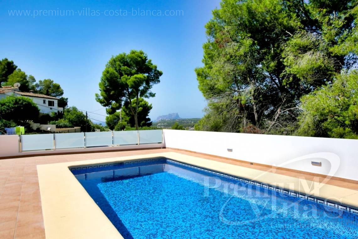 - C2451 - Modern house with sea views in Moraira 7