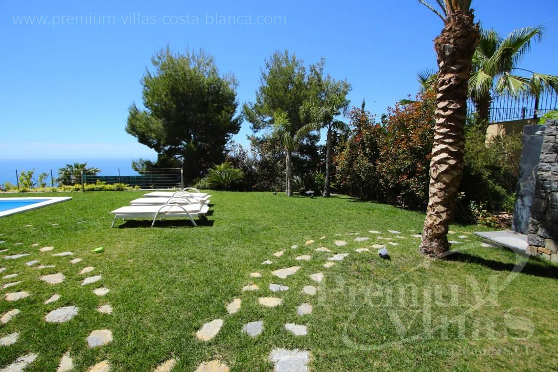 - C2048 - Modern villa for sale with panoramic sea views in Altea Hills 26