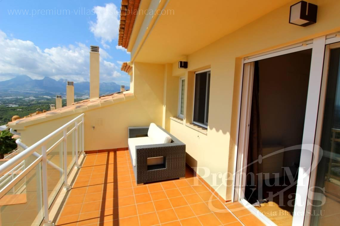 Buy bungalows Altea Costa Blanca - C2214 - Corner bungalow with panoramic sea and mountain views 26