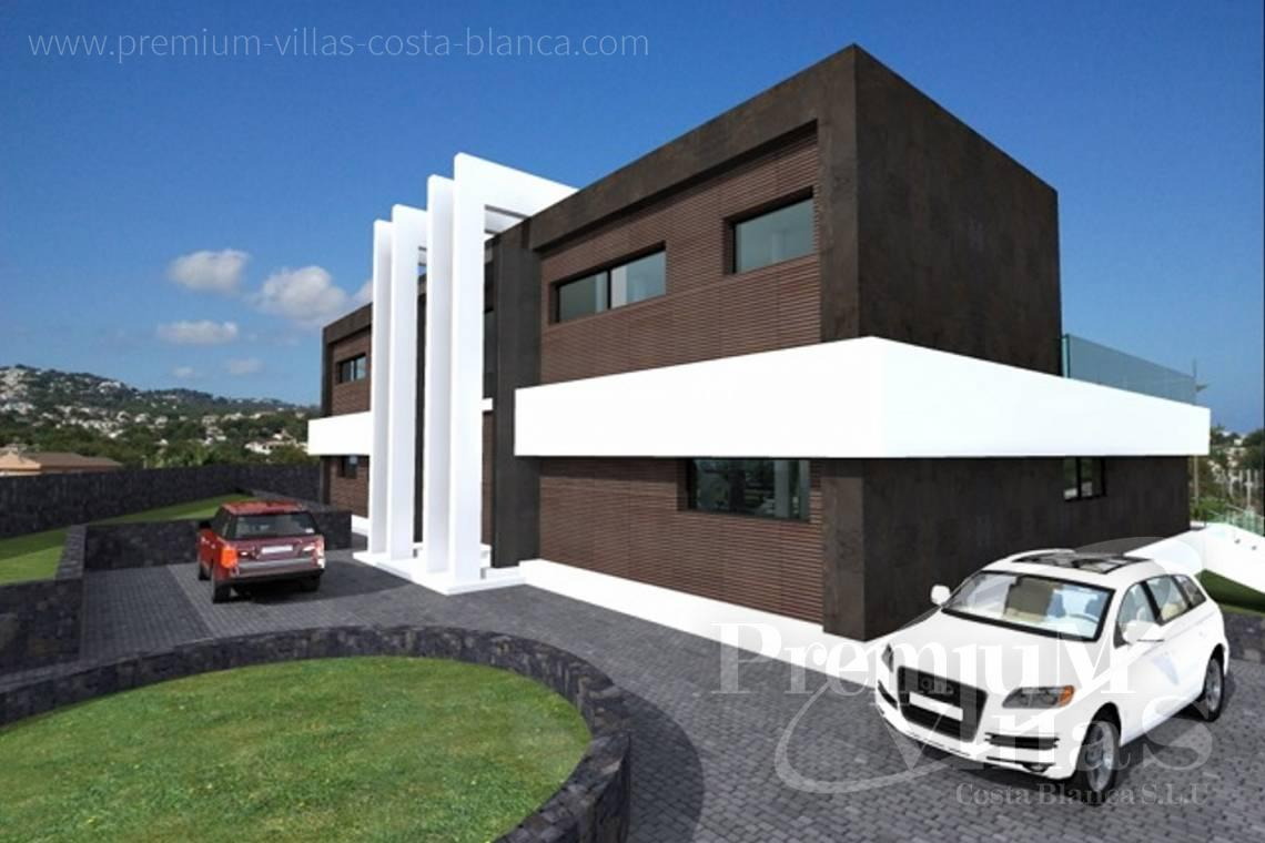 - C1698 - Modern design villa for sale with nice sea views in Benissa  11