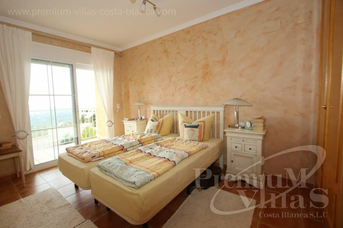 - C2086 - Cosy townhouse with wonderful sea views in the Sierra of Altea 12