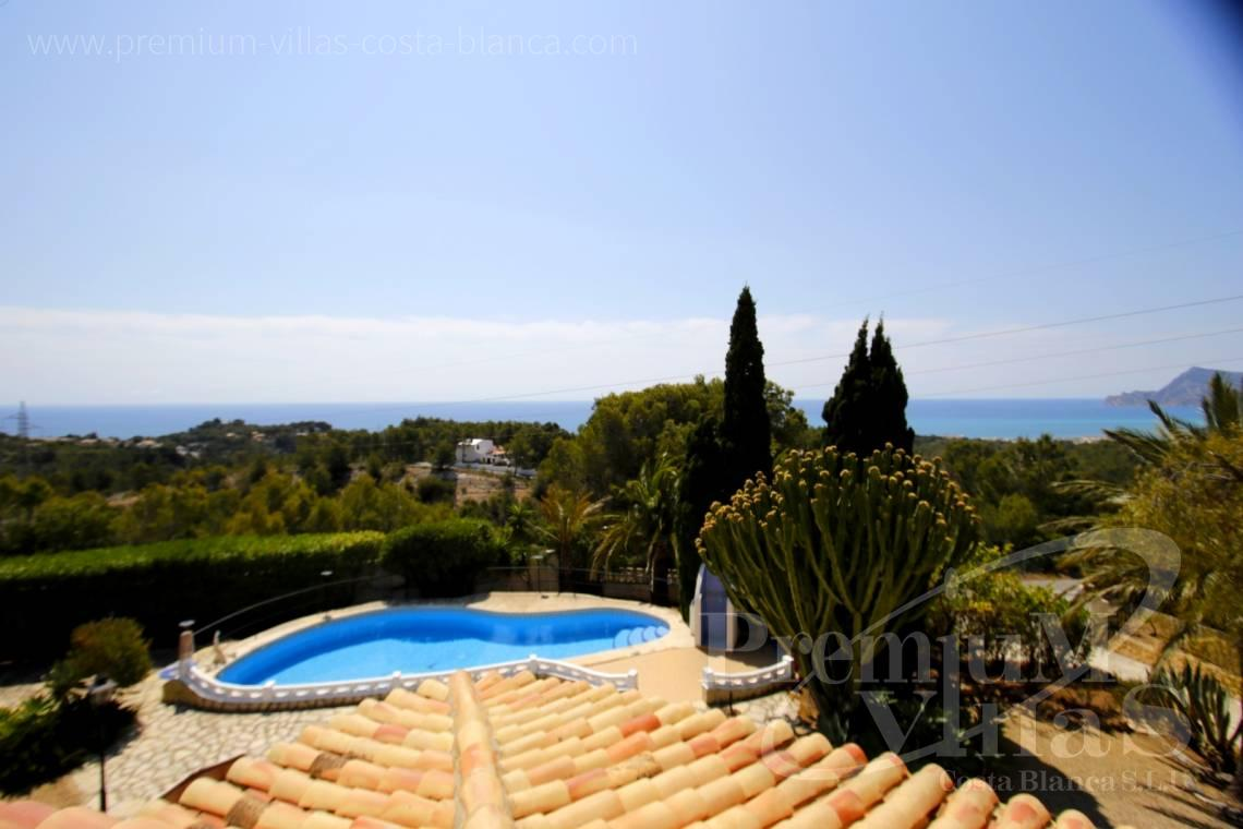 Villas for sale with sea views in Altea - C2162 - Villa in Altea with guest apartment and sea views 2