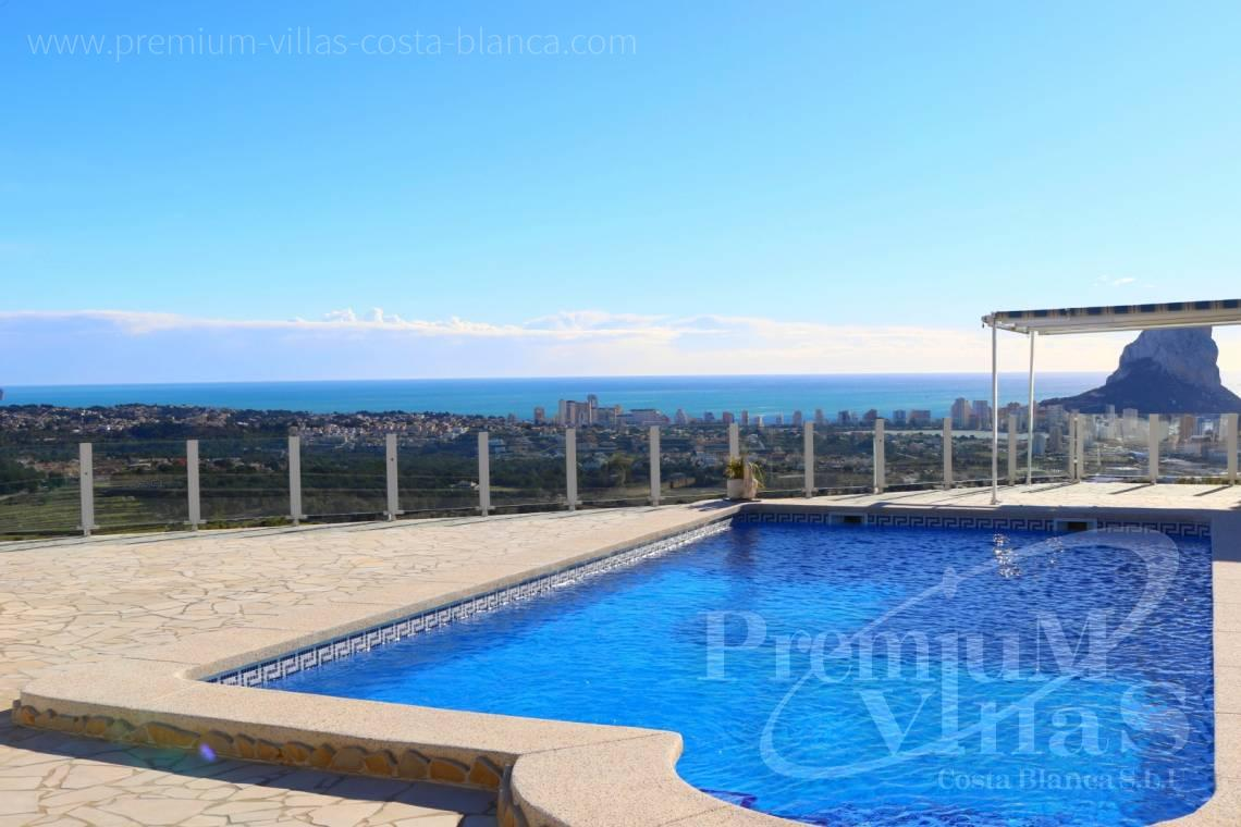 Buy villa with sea views in Calpe Costa Blanca - C1999 - Villa with nice sea view and guest apartment 1